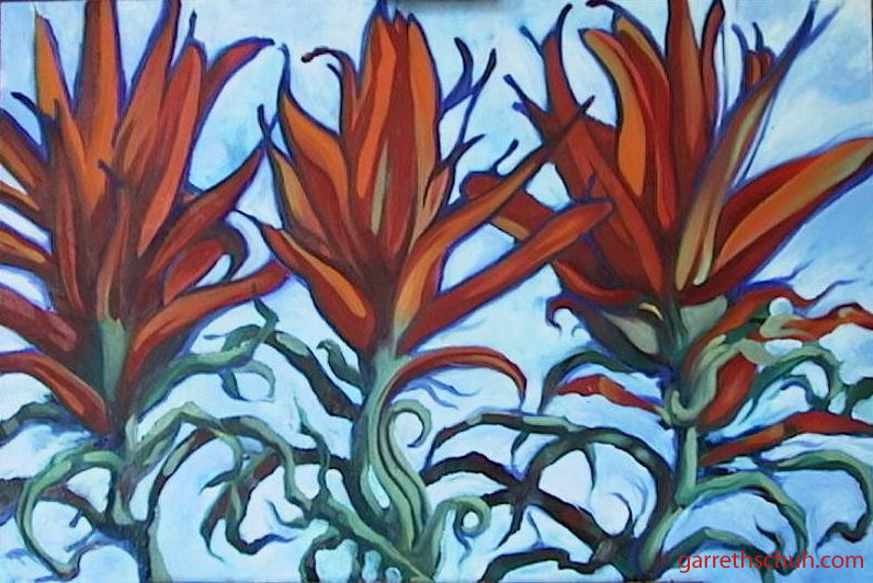 cr DESERT PAINTBRUSHES 2002 24x36 oil on canvas copy