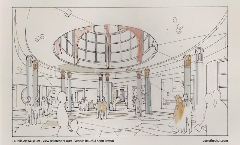 cr LA JOLLA ART MUSEUM COURT rendering