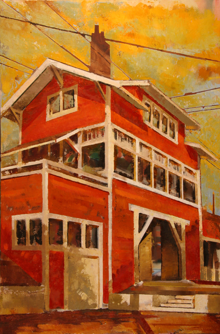 cr DEPOT 2011 24x36 oil on canvas