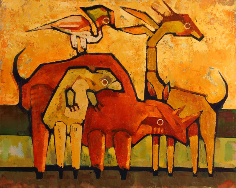 cr WILDLIFE 2011 20x16 oil on canvas