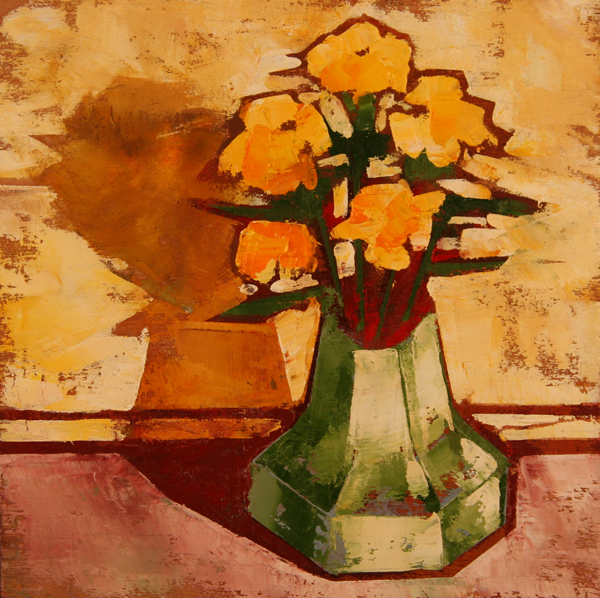 w POSIES 2011 8x8 oil on plywd