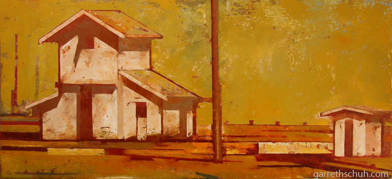 w PRAIRIE 2012 26X12 oil on plywood