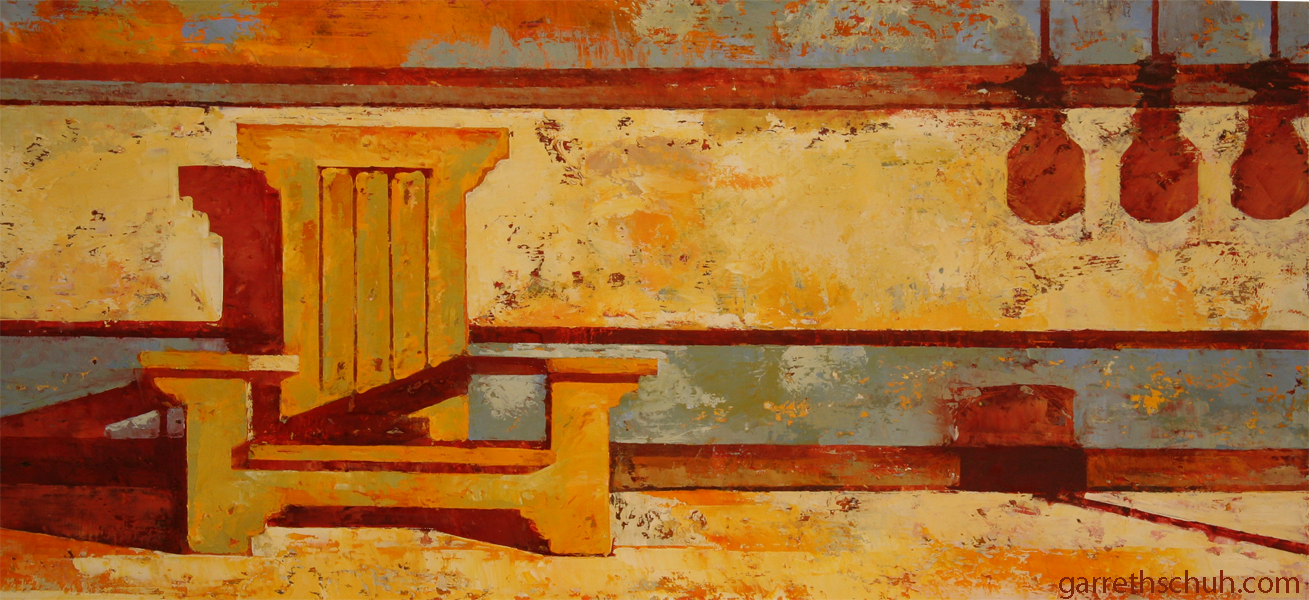 w STICKLEY 2012 26x12 oil on plywood