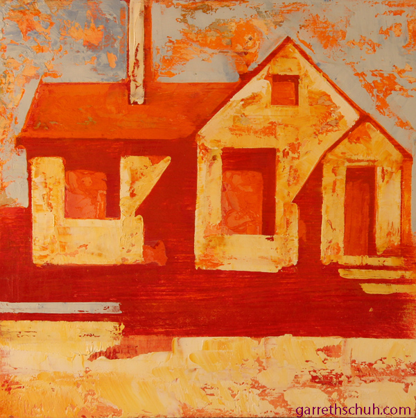 w HOUSE 2012 8X8 oil on plywood copy