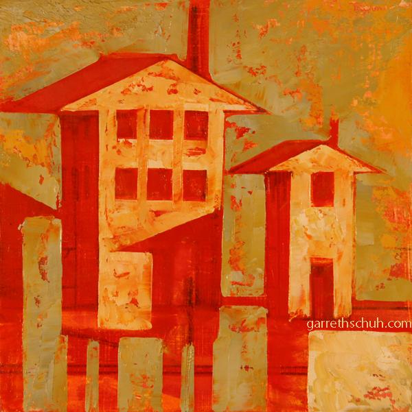 w STILITS 2012 8X8 oil on plywood