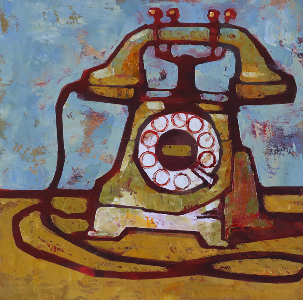 w-old-phone-8x8-2016-oil-on-plywood